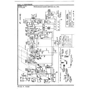 Wholesale Radio Service Co., Inc. CC-57T