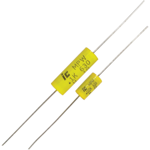 Capacitor - 630V, Polypropylene, axial leads