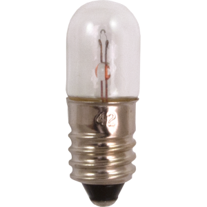 Dial Lamp - #42, T-3-1/4, 3.2V, .35A, Screw Base