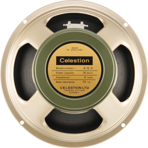 "Speaker - Celestion, 12"", Heritage G12H(75), 30 watts, 8 ohm"