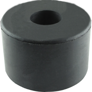 "Foot - Rubber, 1.5"" x 1"" H, with Metal Washer"