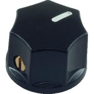 Knob - Mini Indicator, Set Screw, 15mm x 11mm
