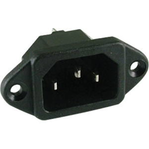 Receptacle - for power cord