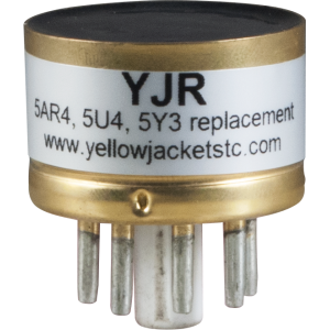 Solid State Rectifier - Yellow Jackets® YJR, For 5AR4, 5U4, 5Y3