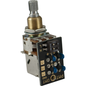 "Potentiometer - PMT, Dual Mode Tone Control, 3/8"" Shaft/Bushing"