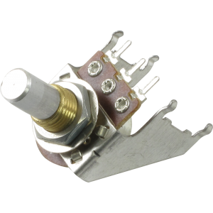 Potentiometer - Audio, Solid Shaft, Snap-In, 16mm