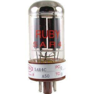 Vacuum Tube - 5AR4, Ruby Tubes