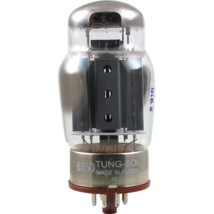 Vacuum Tube - 6550, Tung-Sol Reissue - Apex Matched Pair