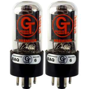 Vacuum Tube - 6V6 C, Groove Tubes, Matched Pair