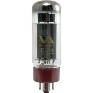 Vacuum Tube - EL34B, Valve Art - Apex Matched Pair