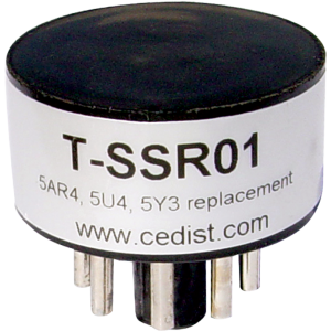 Vacuum Tube - Solid State Rectifier, for 5AR4, 5U4, 5Y3 Tubes