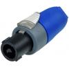 Speaker Twist Plug - Neutrik, speakON, 2-Pole, Strain Relief  image 2