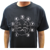 Shirt - Black with Dual Triode Tube Pin-out image 2