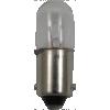 Dial Lamp - #43, T-3-1/4, 2.5V, .50A, Bayonet Base  image 1