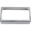 Cover - Humbucker, Open, Nickel Silver, USA image 1