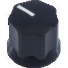 Knob - Dunlop, Cosmod, Small Plastic MXR, Push-On image 3
