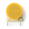 Inductor - Dunlop, Fasel, Toroidal with Cup Core Tone, Yellow image 2