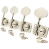 Tuners - Gotoh, GB10, for Bass, 4 In Line, Nickel image 1
