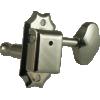 Tuners - Gotoh, Vintage Scalloped-knob, nickel, 3-per-side image 2