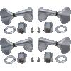 Tuners - Gotoh, Res-O-Lite, Enclosed Bass, chrome, 2 per side image 1
