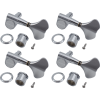 Tuners - Gotoh, Res-O-Lite, Enclosed Bass, Chrome, 4 in line image 1