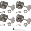 Tuners - Gotoh, for Pre-CBS Fender Bass, nickel, 4-in-a-line image 1