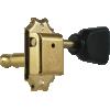 Tuner - Gotoh, SD510, gold, keystone knob, 3-per-side image 2