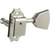 Tuners - Kluson, Nickel, Metal Keystone knob, 3 per side image 2