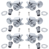 Tuners - Grover, Mini Rotomatic Roto-Grip locking, 3 per side, Chrome image 1