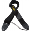 "Guitar Strap - Fender, 2"", Black, Yellow Logo image 1"