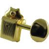 Tuners - Fender®, Vintage Stratocaster / Telecaster, 6 in line, gold image 2