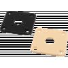 Jack Plate - Fits Les Paul, Plastic image 1