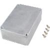 "Chassis Box - Hammond, Unpainted Aluminum, 4.6"" x 3.0"" x 1.5"" image 2"