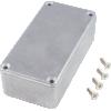 "Chassis Box - Hammond, Unpainted Aluminum, 3.9"" x 2.0"" x 1.2"" image 2"