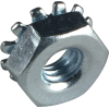 Nut - 8-32, Keps with external tooth, zinc image 1