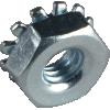 Nut - 8-32x3.25, Keps, Zinc image 1
