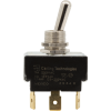 Switch - Carling, Toggle, SPDT, 3 Position, Center Off, Ground image 1