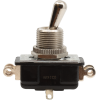 Switch - Carling, Toggle, DPDT, On-On, Solder Lugs, Short Bat image 1