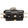 Switch - Carling, Toggle, DPDT, On-On, Solder Lugs, Short Bat image 2