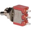 Switch - Carling, Mini Toggle, SPDT, 3 Position, Solder Lugs, Short Bat image 3