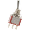 Switch - Carling, Mini Toggle, DPDT, 2-Position, PC Pins image 2
