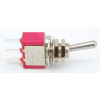Switch - Carling, Mini Toggle, SPDT, 2-Position, PC Pins image 1