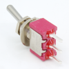 Switch - Carling, Mini Toggle, SPDT, 2-Position, PC Pins image 4