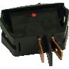 Switch - Carling, Mini Rocker, SPST, On-Off, 16A, 125VAC image 2