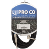 Cable - ProCo Excellines, 18.5', 1 Straight, 1 Right Angle End image 1