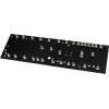 Turret Board - Black, 2mm, Loaded with 33 Turrets, 230mm x 70mm image 1