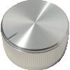 "Knob - Aluminum, Set Screw, Notched Tip, 1.25"" Diameter image 1"