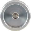 "Knob - Aluminum, Set Screw, Notched Tip, 1.25"" Diameter image 3"