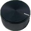"Knob - Aluminum, Set Screw, Notched Tip, 1.25"" Diameter image 4"
