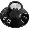 Knob - Skirted Blackface / Silverface image 1